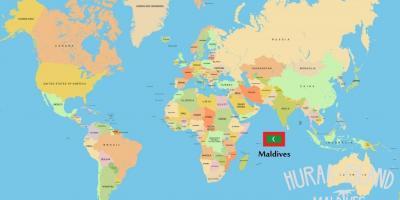 maldivi karta sveta Maldivi zemljevid   Zemljevidi Maldivi (Južni Aziji   Azija) maldivi karta sveta